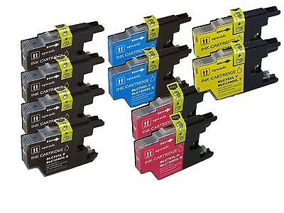10 PACK LC75 LC71 Compatible Ink Cartridge for Brother MFC-J280W MFC-J425W