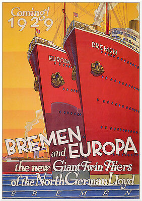 0049 Vintage Travel Poster Art - Bremen