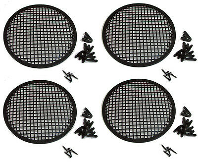 """4 Pack Penn Elcom G10 Speaker Grill With Mounting Hardware for 10"""" Sub Woofers"""