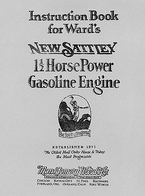 Ward's New Sattley 1½ HP  Engine Instruction Book