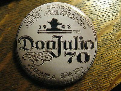 Don Julio 70 Tequila 2012 Anniversary Logo Advertisement Pocket Lipstick Mirror