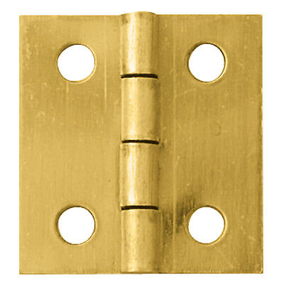 Brass-Plated Small-Box Fastener Hinge