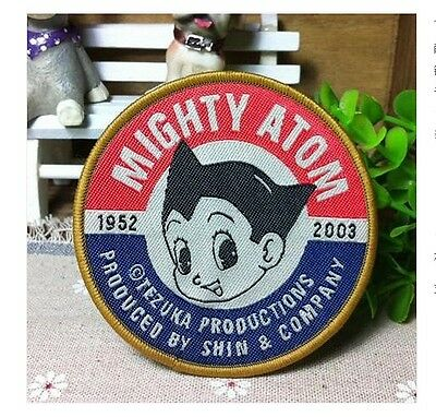 Astro Boy Tetsuwan Atom Cosplay Badge patchs embroidery Embroidered Patch
