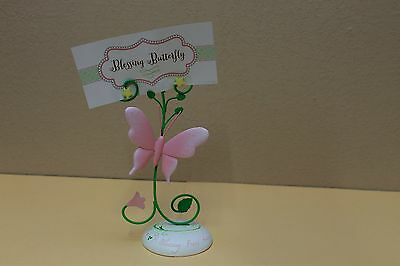 """Brand NEW"" Baby Girl ""A Blessing From Above"" Desktop Photo Holder"