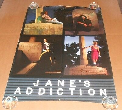 Jane's Addiction Promo 1990 Original Poster 23x35