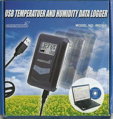 USB Temperature & Humidity data Logger