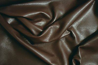 Finest Cowhide Barkers Hide & Leather Skin N140 Brandy. Clothing Upholstery Bags