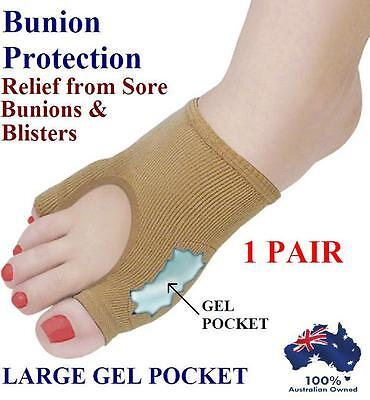 Gel Bunion Protector Toe Separator Straightener Alignment Pain Relief Foot Pad