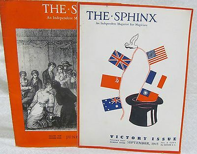 The Sphinx 2 issues 1945