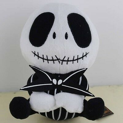 "Nightmare Before Christmas Plush Toy 8"" Jack Lovely Hallowmas Cuddly Doll"