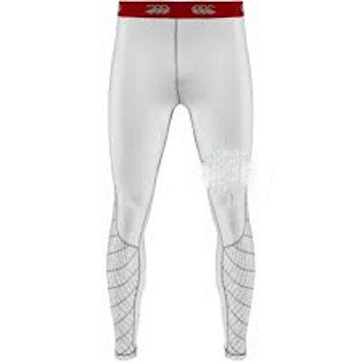 Canterbury Rugby White Mercury Compression Leggings