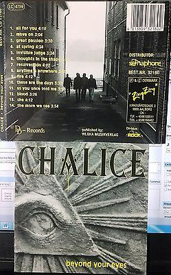 Chalice - Beyond Your Eyes (CD, DD Records, Denmark Indie) RARE