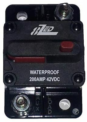 8ZED Marine RV DC Surface Mount Circuit Breaker IP Rated