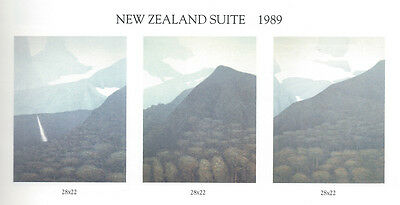 Original RARE Russell Chatham Complete New Zealand Suite - three large prints