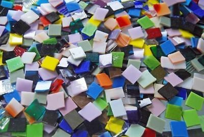 Mini Color Mix Stained Glass Mosaic Tiles