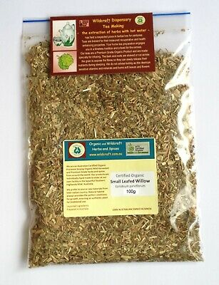 EPILOBIUM 50g Certified Organic Small Leafed Willow Herbal Tea parviflorum herb