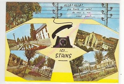 CPSM 93240 STAINS ALLO ici Stains multivues 4 vues  Edt RAYMON n1 ca1994
