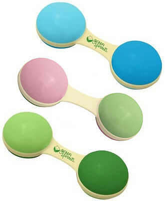 Green Sprouts Eco-Friendly Biodegradable Cornstarch Dumbbell Rattle - 157614