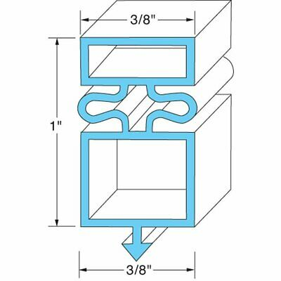 TRUE REFRIGERATION GASKET 810802 for T-72 GDM-72 full