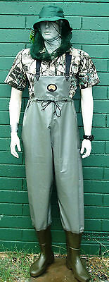 Hornes Australian made PVC Waterproof  Waders BRAND NEW pimple sole