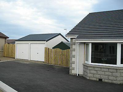 Grampian Steel Buildings, Double Garage, Workshop, Steel building