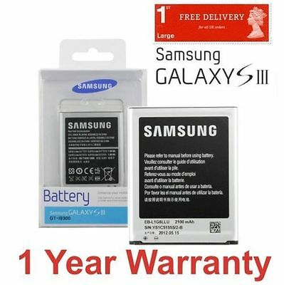 Official Genuine Original Battery For SAMSUNG GALAXY S3 SIII GT-i9300 2100mAh UK