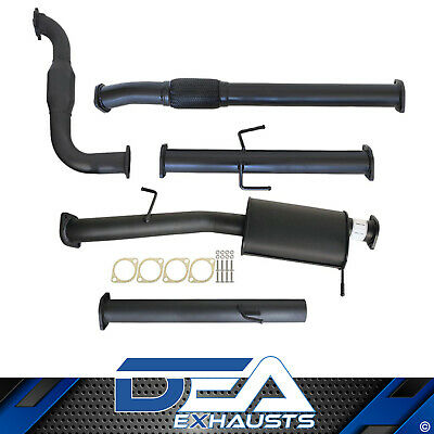 "Mitsubishi Triton Mn Turbo Back 3"" Inch Exhaust With Cat And Muffler"