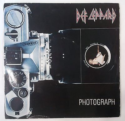 "Def Leppard Photograph Single 7"" UK 1983"
