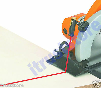 Power Saw Laser Cutting Projector Guide 360 Degree Rotating Head Magnetic Mount