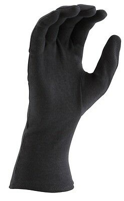 Director's Showcase Black Long Wrist Cotton Marching Band Parade Gloves