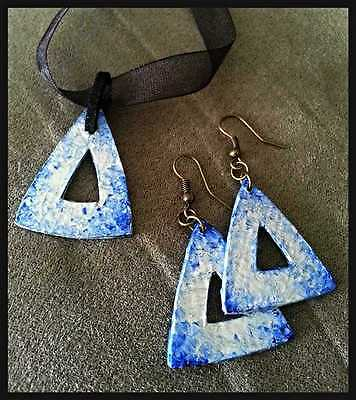 Handcraft Earrings and necklace