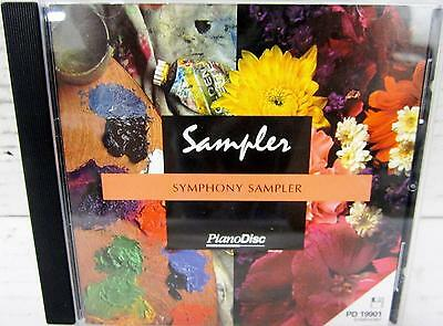 Pianodisc Pd19901 Sympony Sampler Floppy Disc