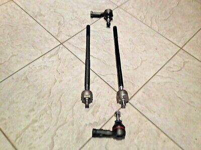 FORD FOCUS MK1 ALL CAR 98-04 TWO INNER TRACK ENDS + TWO OUTER TRACK ROD ENDS NEW