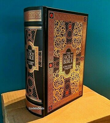 The Holy Bible King James Version Gustave Dore Illustrated Leather Bound  SALE