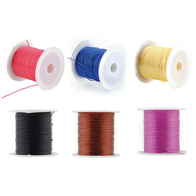 1 Reel Crystal Elastic Stretchy String Cord Beading for Bracelet Making Hot