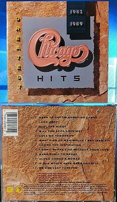 Chicago - Greatest Hits 1982-1989 (CD, 1989, Reprise Records, USA)