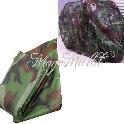 Motorcycle Covers Waterproof Dust Protector Rain Covers XL Camouflage ET00769
