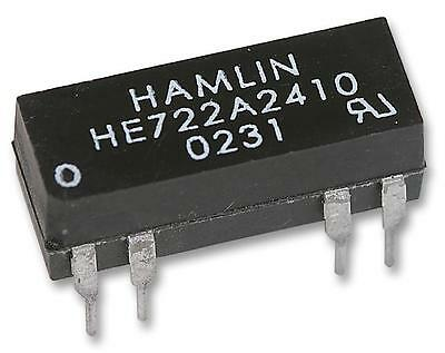 MPN: HE722A2410 _ Relay Reed Dil Dpst-No 24Vdc _ HAMLIN / Pack of: 1
