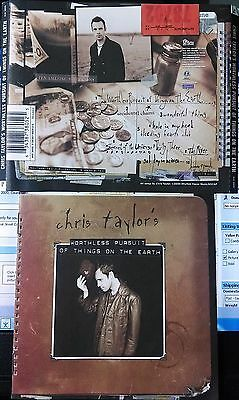 Chris Taylor - Worthless Pursuit Of Things On The Earth(CD,2000,Rhythm House,US)