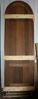 "Peruvian Walnut Round Top Interior Door-3'0"" x 10'6""-Pre-Hung -NEW"