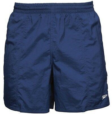 Mens Speedo Solid Leisure Swimming Shorts Navy Brand New As From Speedo.