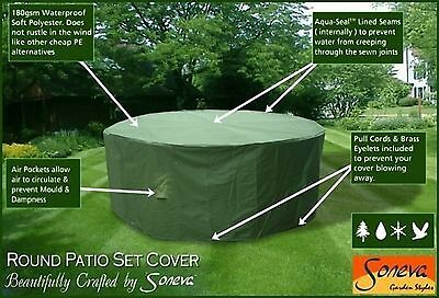 Round & Rectangular heavy Duty Polyester Garden Patio set Table & Chairs cover