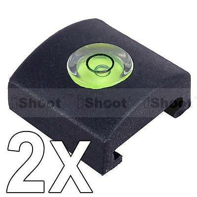 2x Spirit Level Hot Shoe Cover Cap Protector for Sony Camera a200/a230/a290/a300