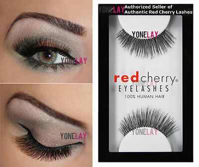 d7eeaf314e3 Lot 6 Pairs GENUINE RED CHERRY #205 Therese False Eyelashes Human Hair  Lashes