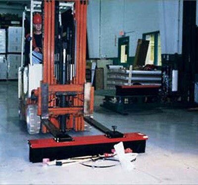 Forklift Sweeper - Forklift Mounted Broom - 60 in attachment
