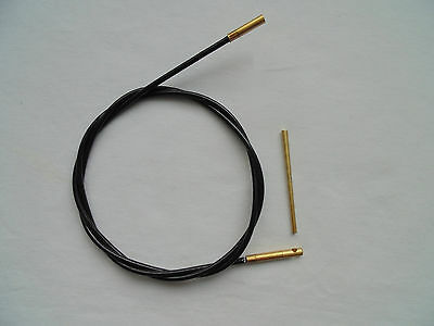 gun cleaning cable of rifles, for barrel sizes .22 ca or larger