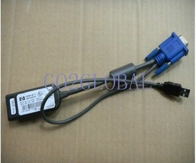 HP KVM USB Used 336047-B21 336047B21 INTERFACE ADAPTER 1-PACK WW CONSOLE 60 days