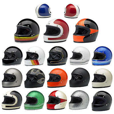 *FAST FREE SHIPPING* Biltwell Gringo Full Face Motorcycle Helmet (ALL COLORS)