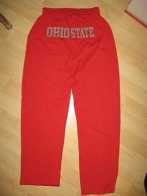 Ohio State University Buckeyes OSU Vintage 1980's Soffe USA Gym Sweatpants Med