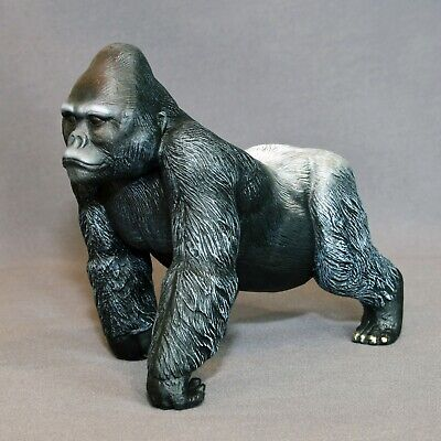Silverback Gorilla Bronze Sculpture King Kong Figurina‏ Statue Limited Edition**
